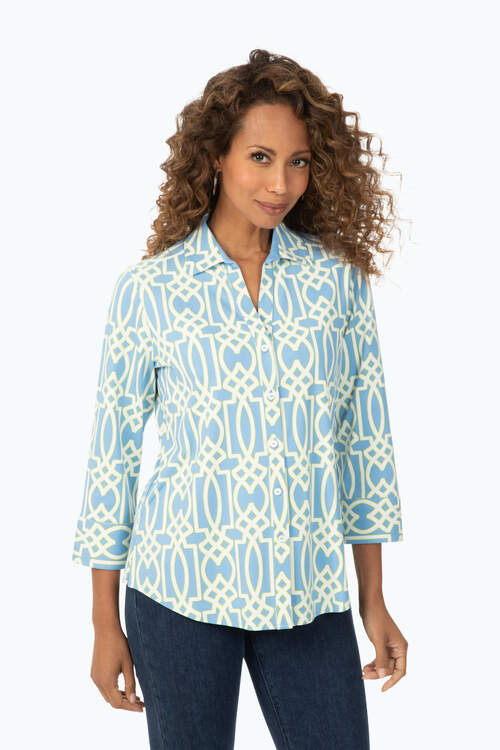 Mary Parisian Geo Shirt