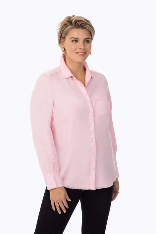 Plus Front Pocket Tencel® Shirt
