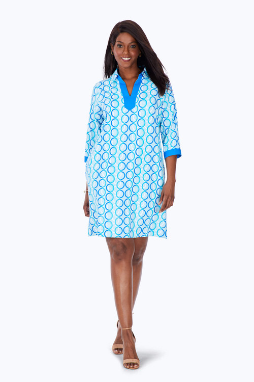 Plus Circle Links Dress