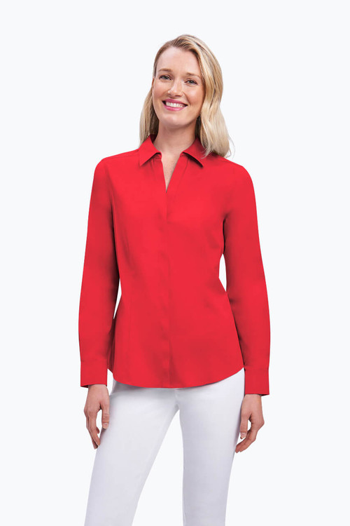 Ellen Petite Stretch Non-Iron Shirt