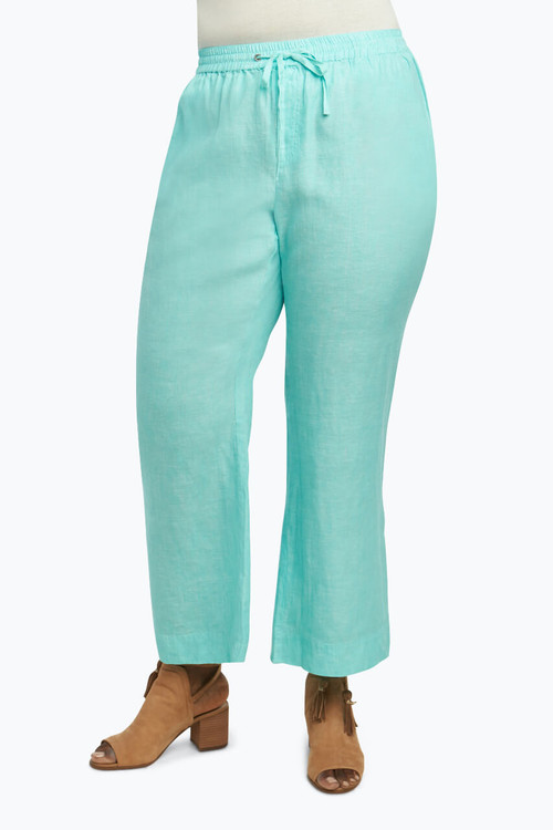 Shore Plus Pant in Chambray Linen
