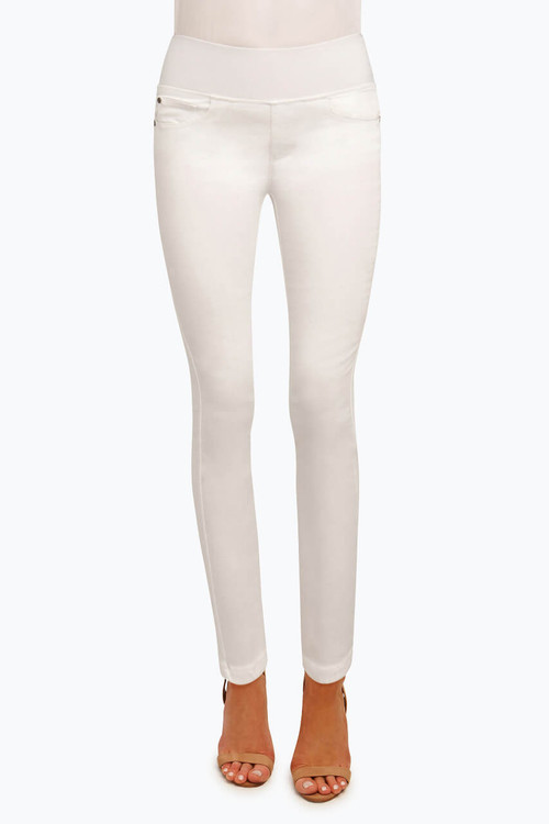 Nina Stretch White Jean