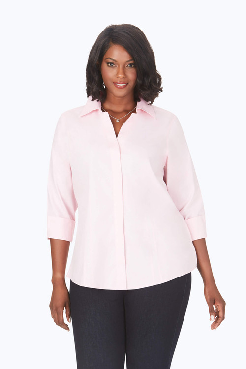 Taylor Plus Essential Pinpoint Non-Iron Shirt