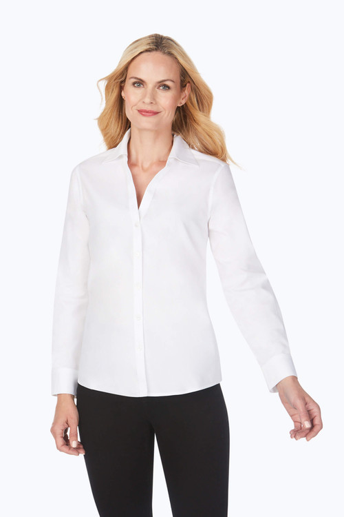 Chrissy Essential Pinpoint Non-Iron Shirt