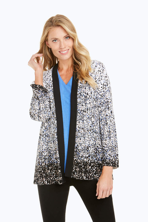 Florence Ombre Flower Cardigan
