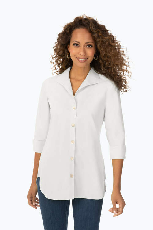 Pandora Essential Pinpoint Non-Iron Tunic