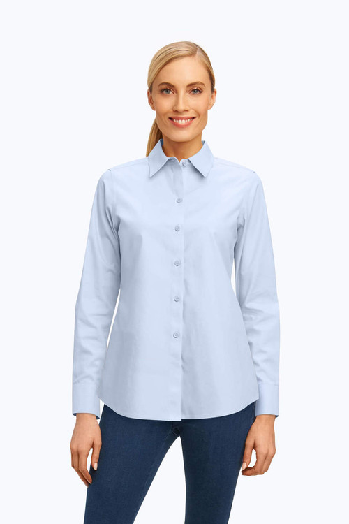 Diane Petite Essential Pinpoint Non-Iron Shirt
