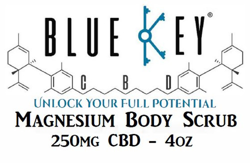 Magnesium Body Scrub by Blue Key CBD