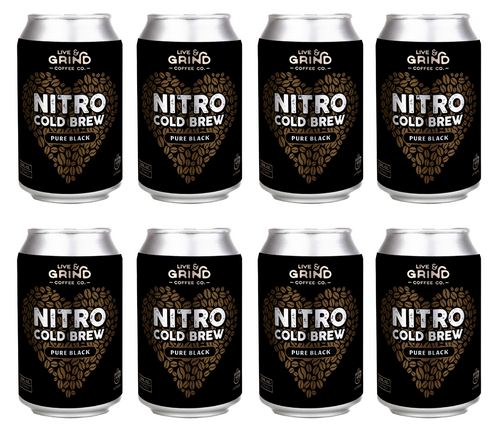 8 pack of nitro cold brew coffee