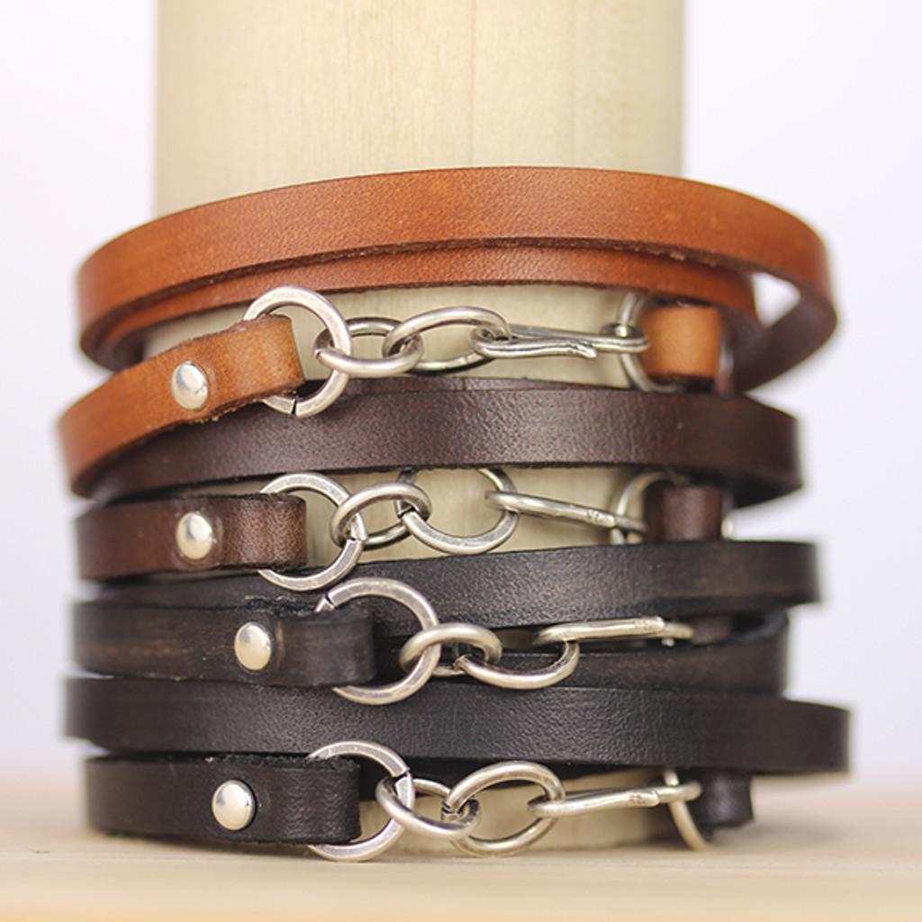 LOVE + letters wrap bracelet
