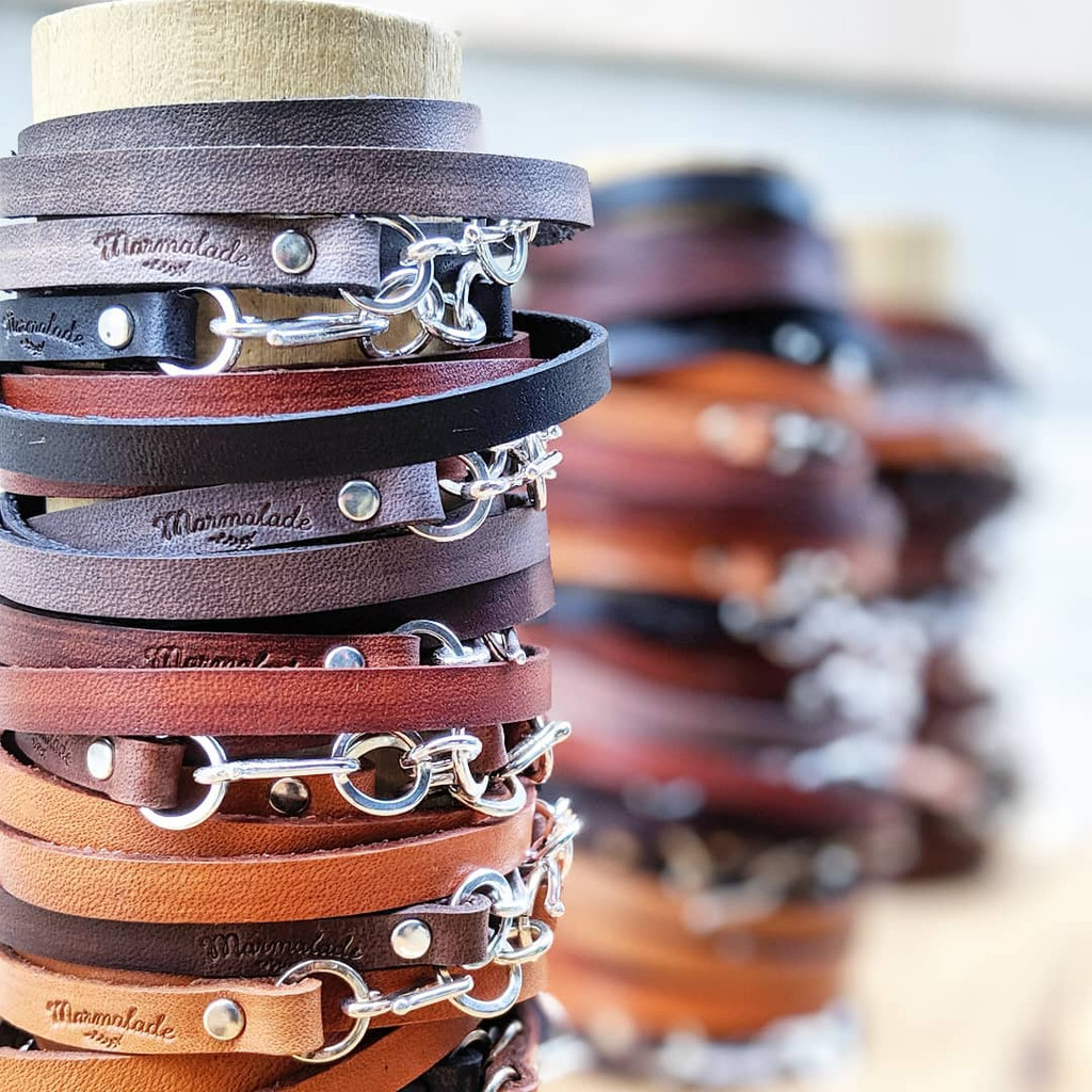 Black Leather Wrap - Build Your Own