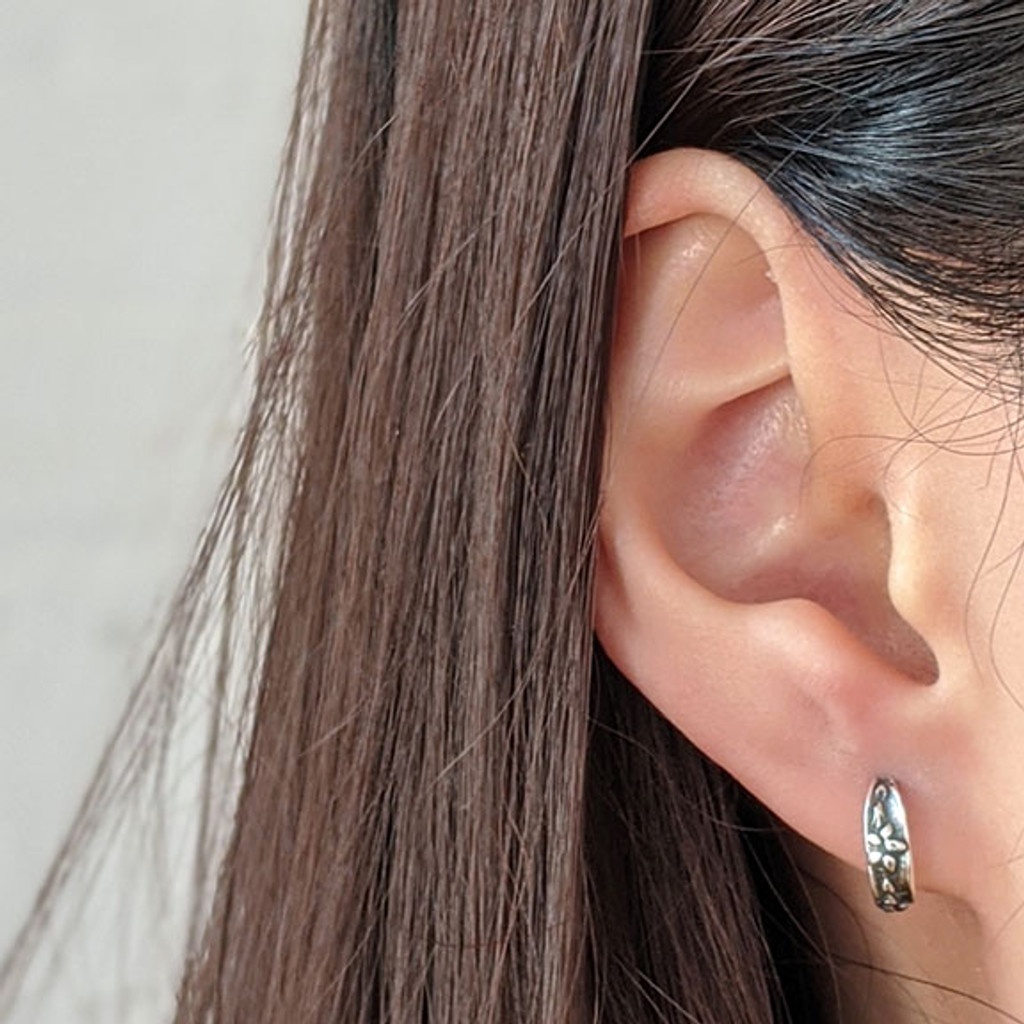 Forget-Me-Not Earrings