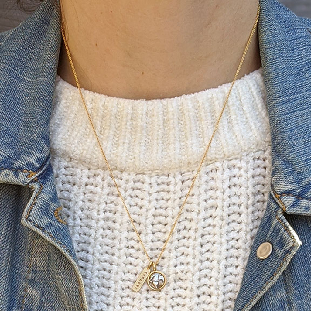 Earth Charm Necklace