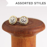 Teeny S + B Picture Studs