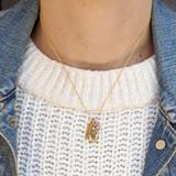 Sunflower Charm Necklace