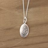 Silver Fern Necklace