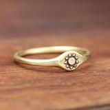 Sun Signet Ring
