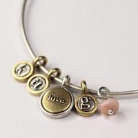 Love + Letters Bangle
