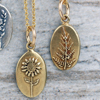Botanical Ovals - Bronze