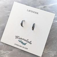 Lavender Earrings