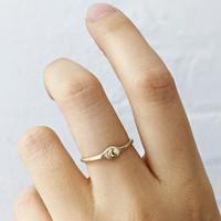 Moon Signet Ring