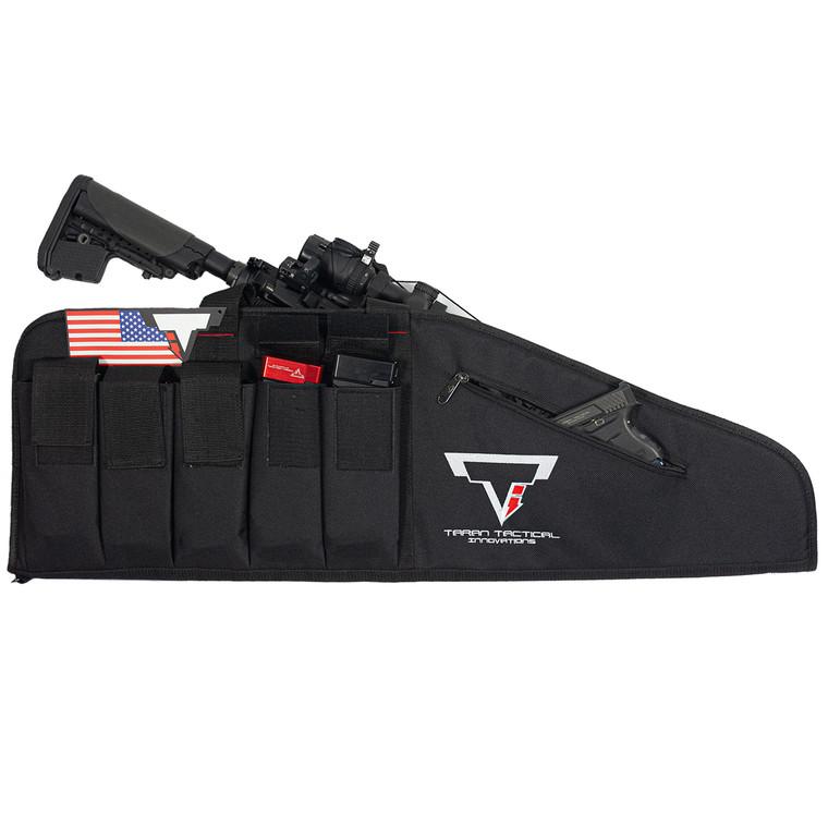 """TTI 38"""" Rifle Bag W/5 Mag Pouches"""