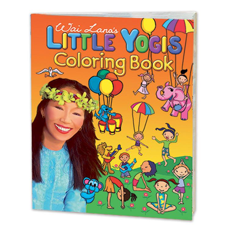 Wai Lana's Little Yogis™ Coloring Book