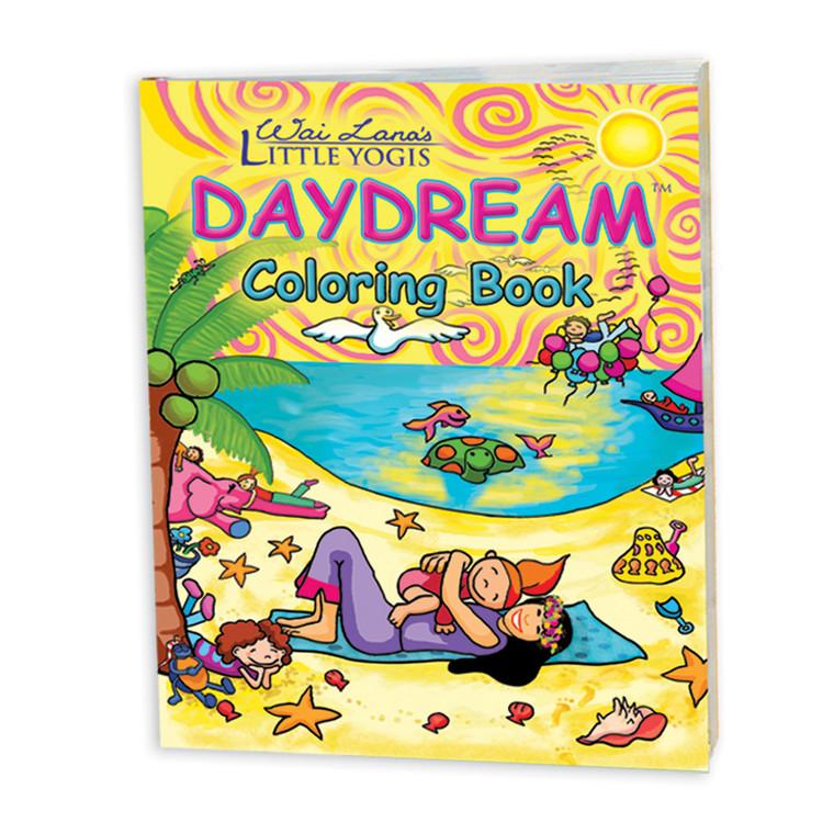 Wai Lana's Little Yogis™ Daydream Coloring Book