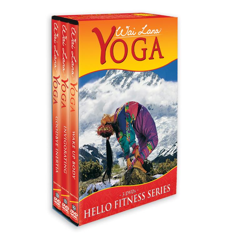 Serie de Hola al Bienestar, en DVD