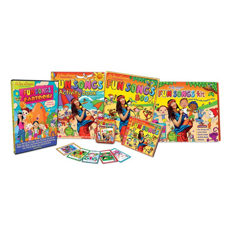 Wai Lana's Little Yogis™ Fun Songs Kit