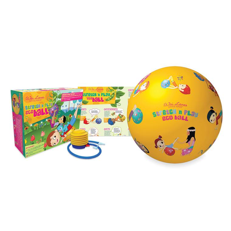 Wai Lana's Little Yogis™ Stretch 'n Play Eco Ball kit