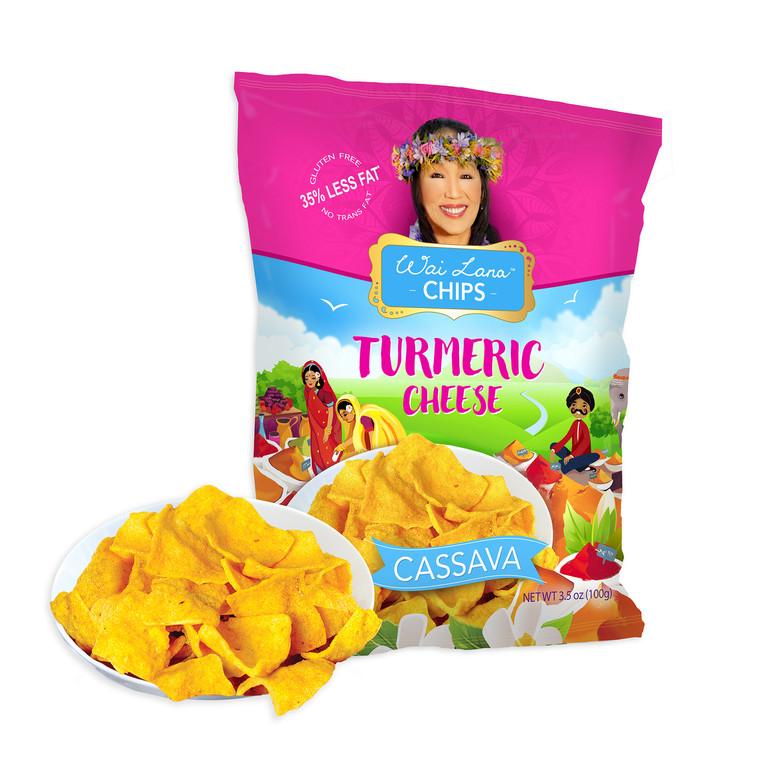 Wai Lana Chips: Turmeric Cheese (3.5 oz)