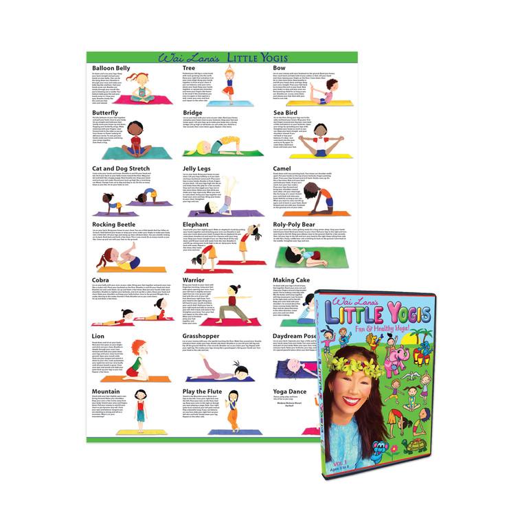 Little Yogis Vol 1 DVD/Poster Combo