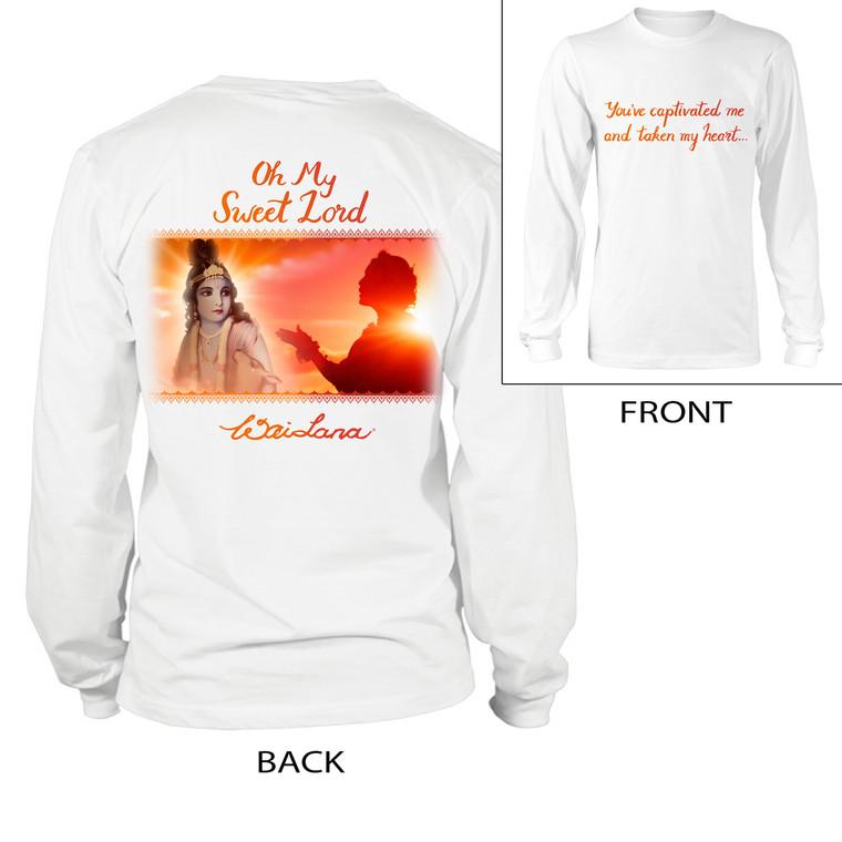 Oh My Sweet Lord   Long Sleeve Shirt (Unisex)