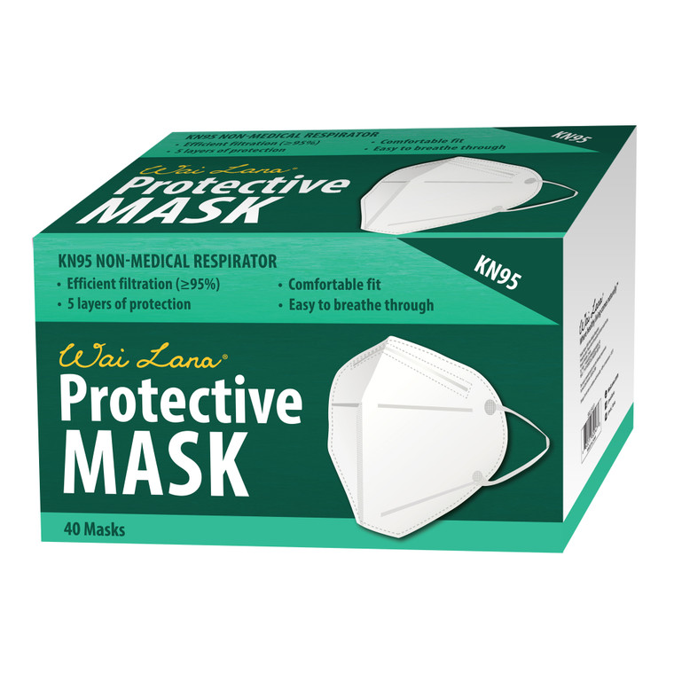 KN95 Respirator Mask - Pack of 40