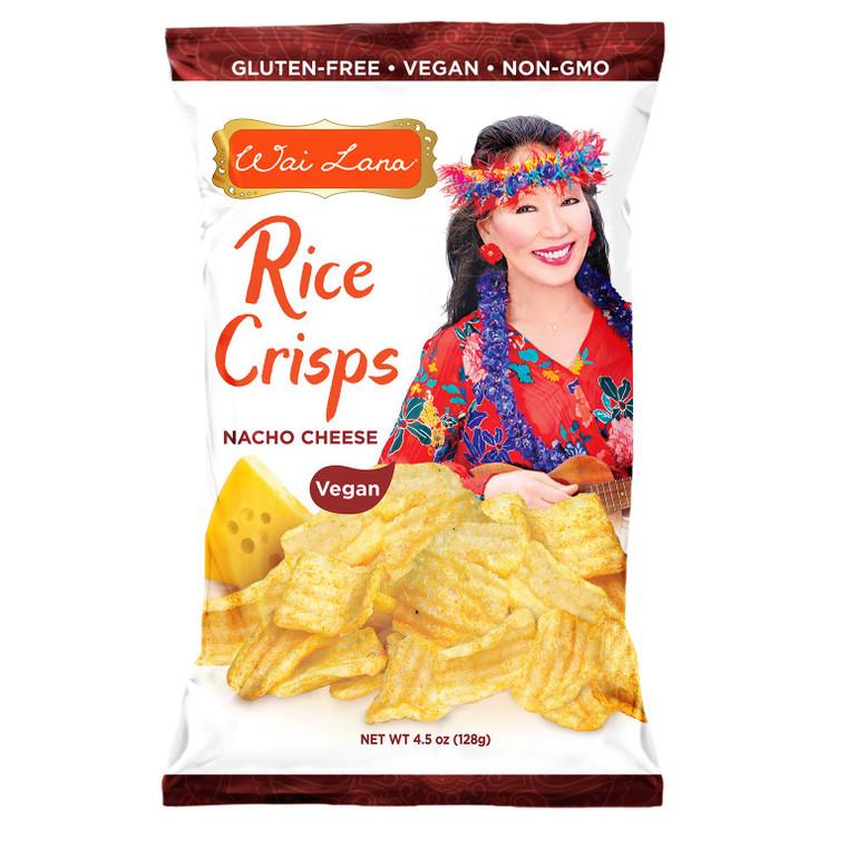 Rice Crisps : Nacho Cheese - 12 pack (Vegan) (4.5oz)