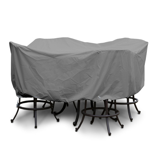 Outdoor Bar Set Cover w/Umbrella Hole