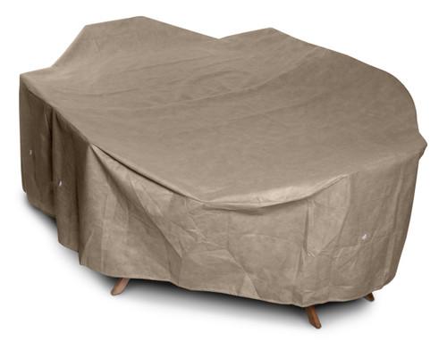 KoverRoos® III Outdoor Oval/Rectangular Dining Set Cover