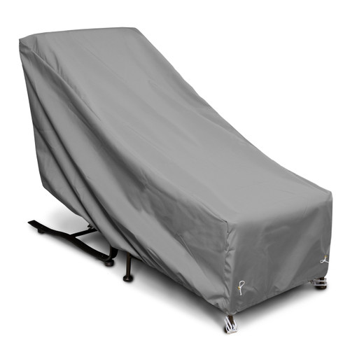Outdoor Chair with Ottoman Cover