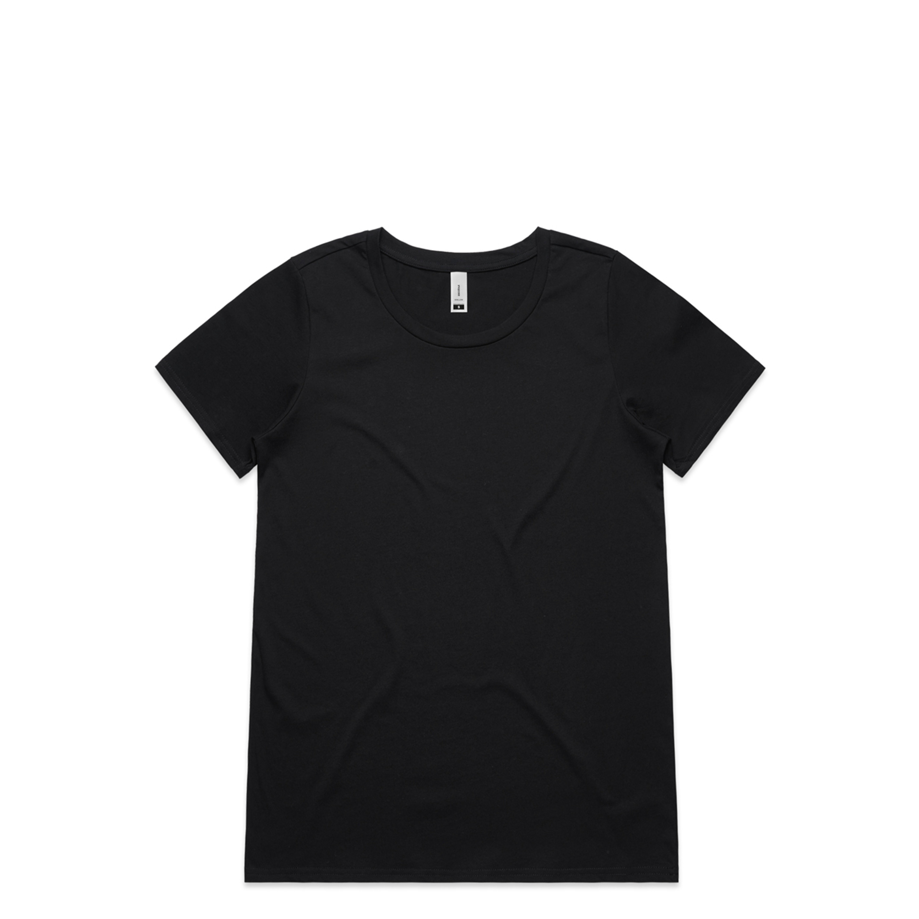 Wo's Shallow Scoop Tee - 4011