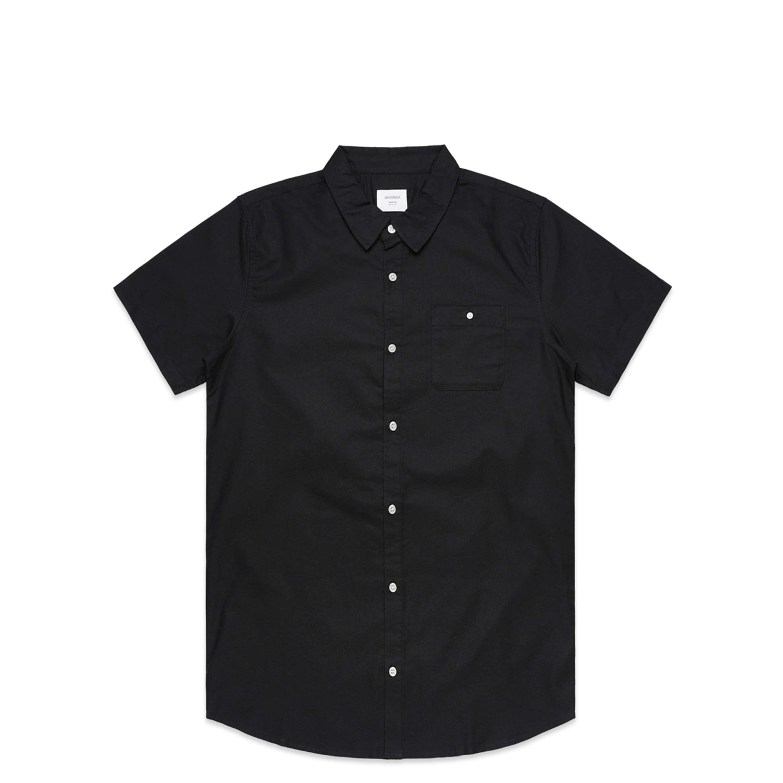 Mens Oxford Short Sleeve Shirt - 5407