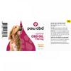 CBD Peanut Butter | Dog Tincture 750MG CBD