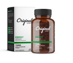 CBD Energy Capsules | Original Hemp Energy Capsules