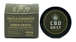 Triple Strength CBD Cream | 0.5 OZ Contains 54 MG CBD Lotion | CBD Daily