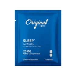 Single Serving Sleep CBD Capsules | CBD Sleep Capsules 25mg