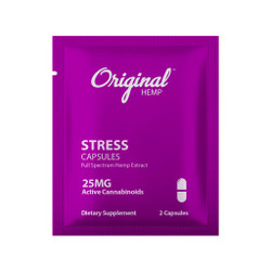 Single Serving CBD Capsule | CBD Stress Capsule 25mg