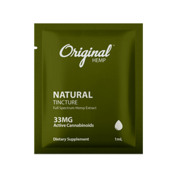 CBD Single Serving | Natural Tincture CBD 33mg