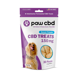 CBD Dog Treats | 150MG CBD | CBD Sweet Potato PawCBD