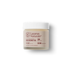 Lazarus Naturals CBD Infused Coconut Oil 300MG
