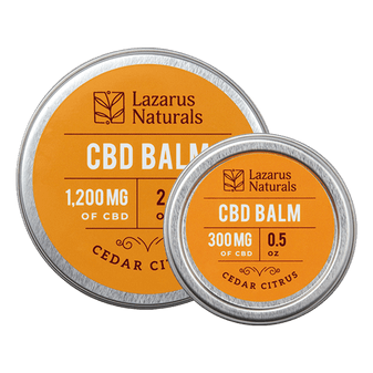 CBD Full Spectrum Citrus Balm